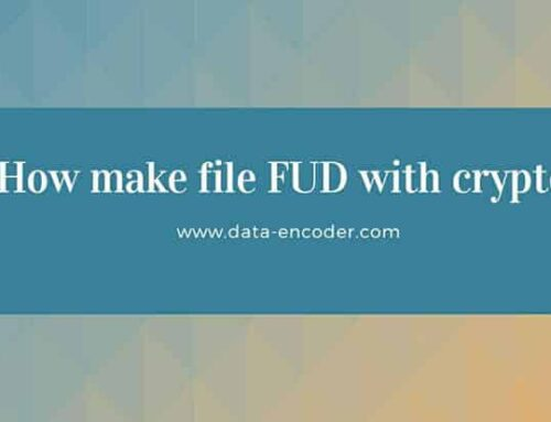 How make file FUD with crypter