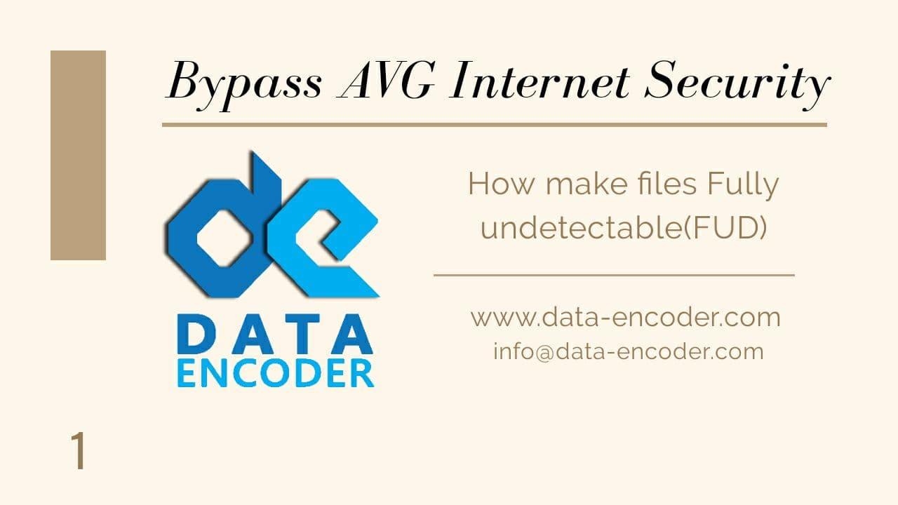 Bypass AVG Internet Security