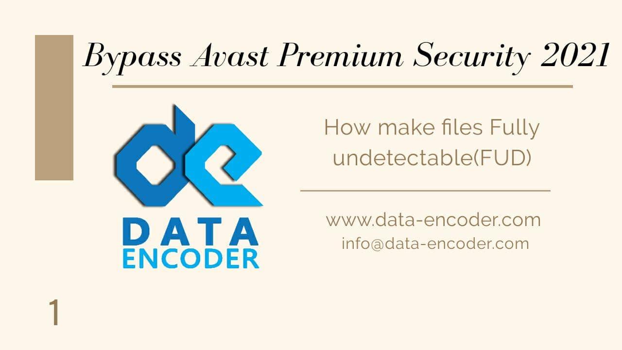 Bypass AVAST Premium Security