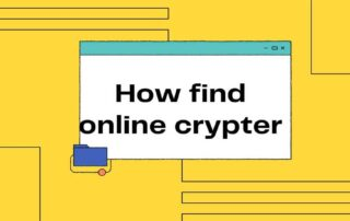 How find online crypter